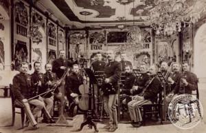 Kapelník Ondřej Grill a jeho granátnická kapela