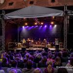 Zahájení koncertu kapely Čechomor, Krumlovský slunovrat 2020, Schwarzenberská granátnická garda, Foto/zdroj: Lubor Mrázek