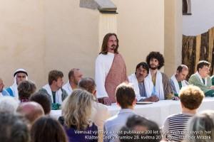 Schwarzenberští granátníci v roce 2016 ztvárnili apoštoly Matouše a Jana