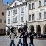 Uctění památky obětí II. světové války 2020, Schwarzenberská granátnická garda, Foto/zdroj: Lubor Mrázek