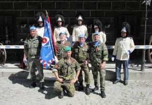 Po skončení slavnostní ceremonie, Schwarzenberská granátnická garda