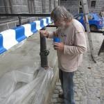 Vrchní korektor Jiřík, obnova strážnice, Schwarzenberská granátnická garda