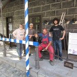 Po 14ti hodinách září strážnice novotou, obnova strážnice, Schwarzenberská granátnická garda