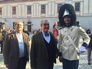 Jeho Jasnost Karel VII. kníže ze Schwarzenbergu a vévoda krumlovský a gardový hejtman Martin Neudörfl, Schwarzenberská granátnická garda