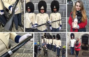 Na Štědrý den obdrželi granátníci zbrusu nové pušky, Schwarzenberská granátnická garda