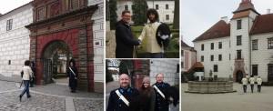 Slavnostní výjezd do města Třeboň, Schwarzenberská granátnická garda