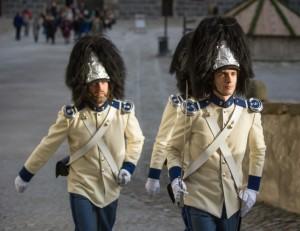 Schwarzenberští granátníci ve slavnostních uniformách (foto: Jan Sommer)