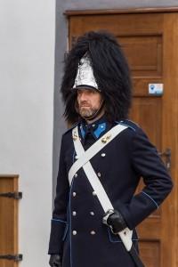 Zimní slavnostní uniforma (foto: Lubor Mrázek), Schwarzenberská granátnická garda