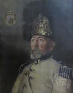 Portrét granátníka, 30. léta 20. století, Archiv Schwarzenberské granátnické gardy