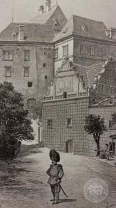 Vyobrazení granátníka z 19. století, Archiv Schwarzenberské granátnické gardy