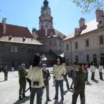 Po ceremonii, Modré barety 2016, Schwarzenberská granátnická garda