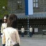 Slavnostní vyvěšení knížecího praporu, Schwarzenberská granátnická garda