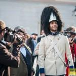Slavnostní vyvěšení knížecího praporu, Schwarzenberská granátnická garda, (foto/zdroj: Jan Sommer)