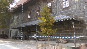 Granátnická strážnice po první fázi revitalizace, kterou granátníci uskutečnili již v roce 2016