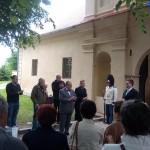 Odhalení schwarzenberského erbu na zámku Nový Hrad v Jimlíně, Foto/zdroj: Filip Štědrý