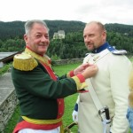 Slavnostní výjezd schwarzenberských granátníků do Murau 2017, Schwarzenberská granátnická garda