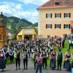 Slavnostní výjezd schwarzenberských granátníků do Murau 2017, Foto/zdroj: Murtalinfo