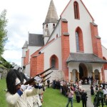 Slavnostní výjezd schwarzenberských granátníků do Murau 2017, Foto/zdroj: Kleine Zeitung, Franz Neumayr