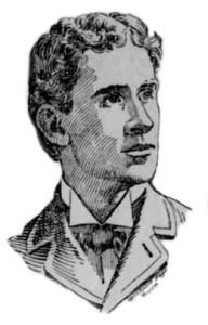Prof. James L. Skelly, přednášející na projekcích Hořického pašijového filmu, 1898