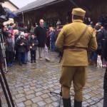 Přivítání Legiovlaku v Českém Krumlově, Schwarzenberská granátnická garda