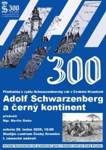 """Přednáška """"Adolf Schwarzenberg a černý kontinent"""", Schwarzenberský rok v Českém Krumlově"""