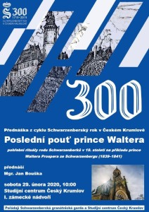 Přednáška Poslední pouť prince Waltera, Mgr. Jan Bouška